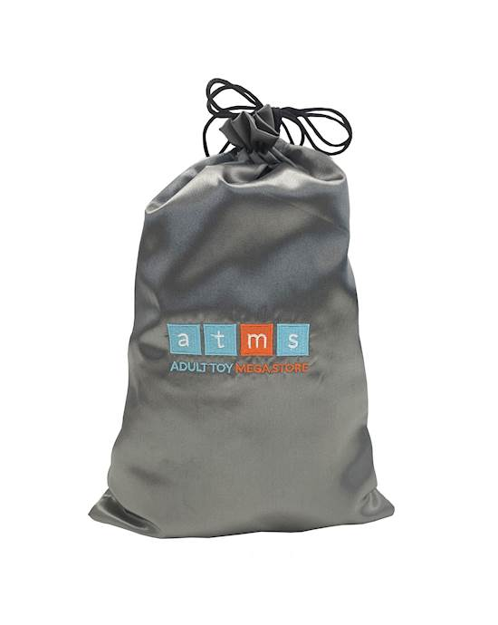 Atms Padded Large Toy Storage Bag - Silver - Large